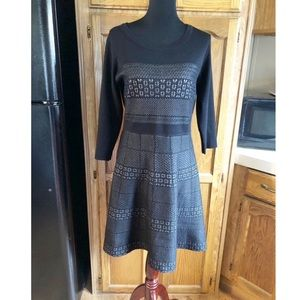Roz & Ali Sweater Dress Size Large